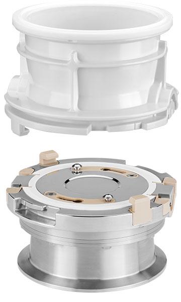 Stainless steel AVAX valve and plastic AVAX valve