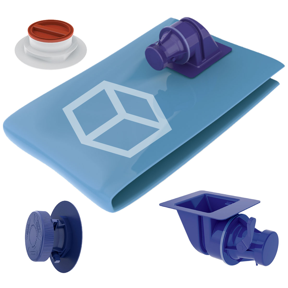 TPS Cube Liners & Valves