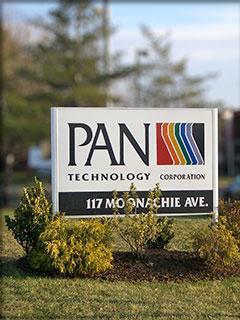 Pan Technology sign at plant entrance