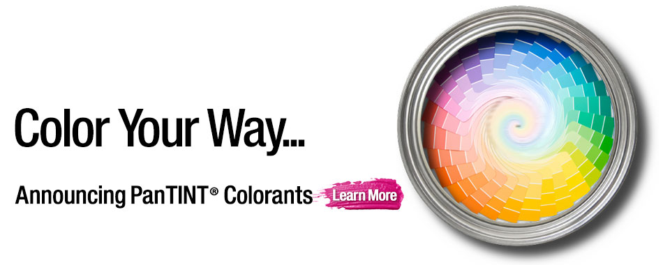Announcing new Colorants product line