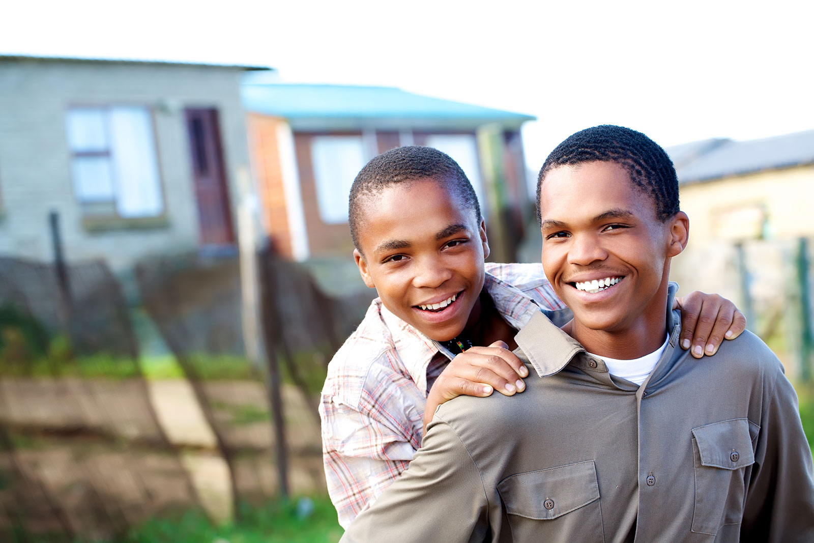 image of two young black men