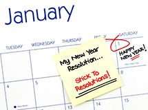 Resolutions for Health and Wellness