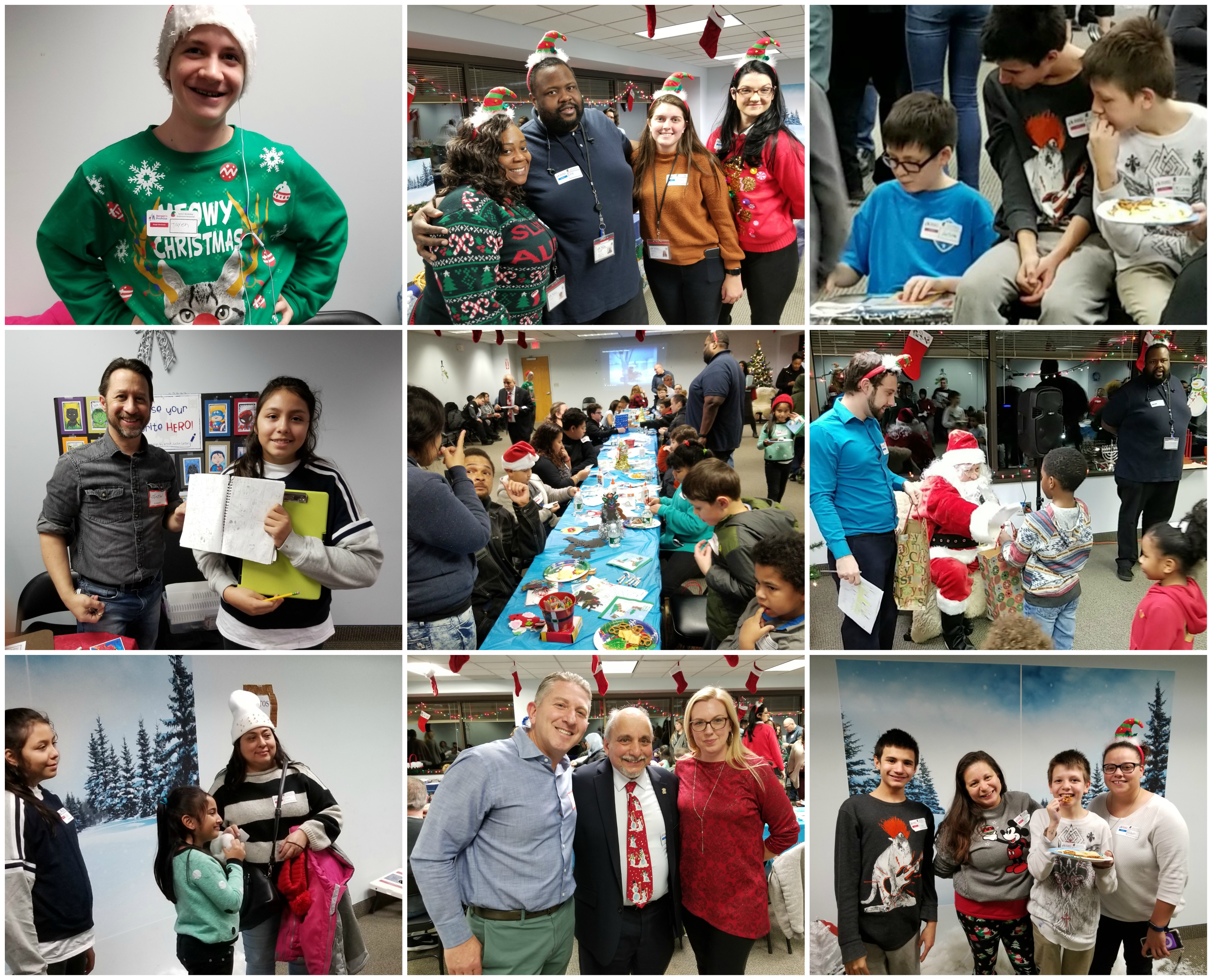Our 3rd Annual Family Holiday Party and Toy Drive