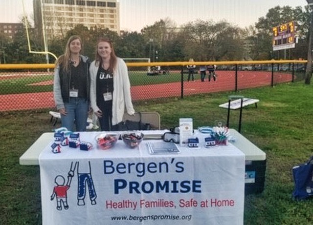 Bergen's Promises Exhibits at Dwight Morrow High School Football Game