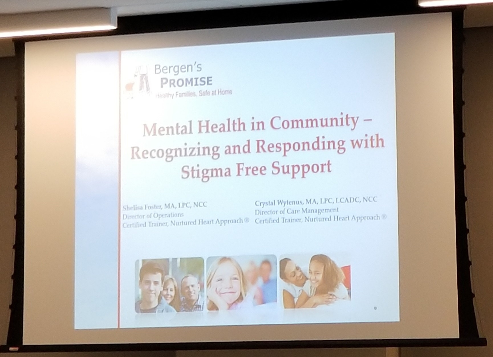 Bergen's Promise Supporting Voices Program