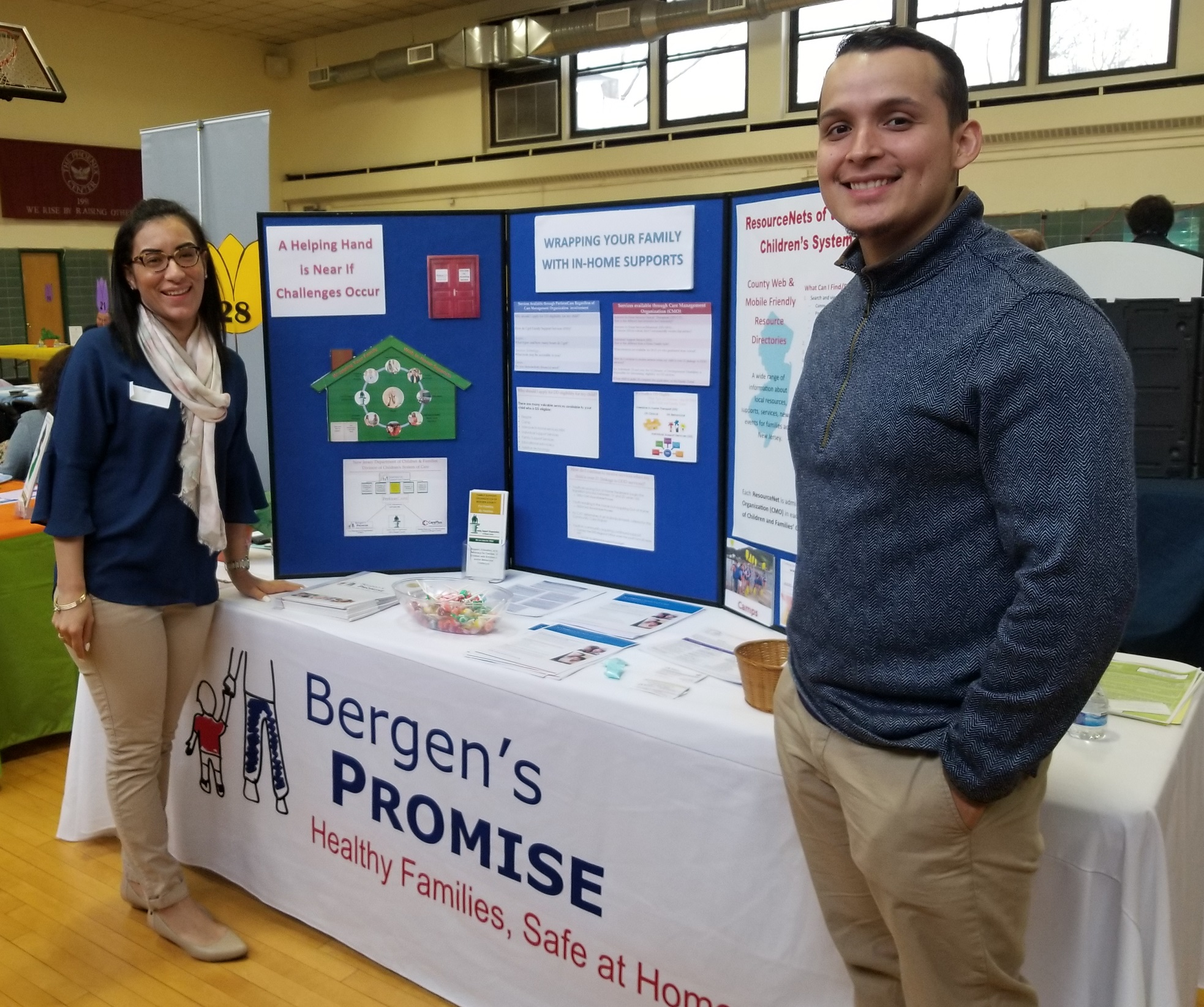 Bergen's Promise Exhibits at Phoenix Center Transition Fair