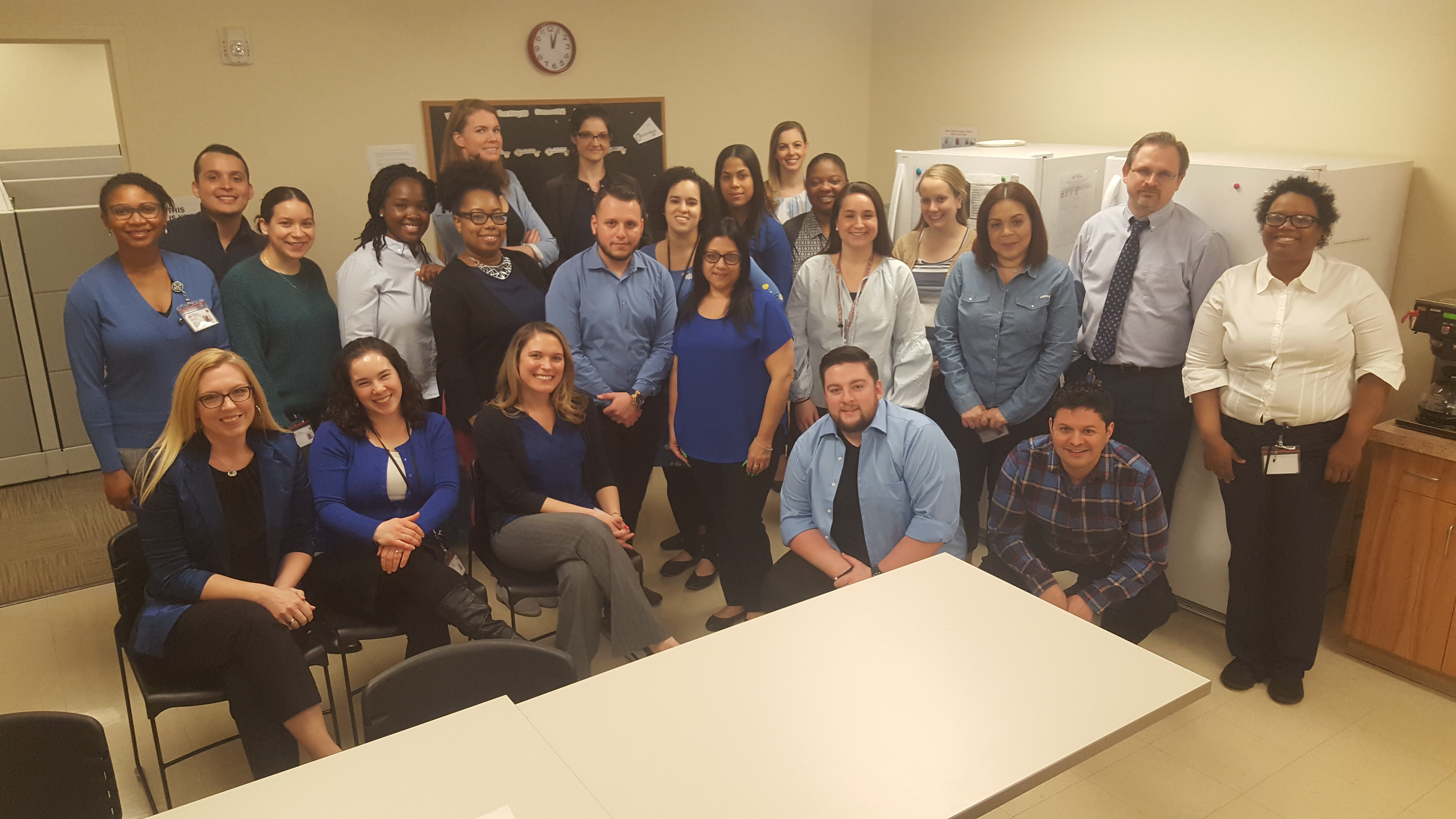 Our BP Team Goes Blue for Autism Awareness Month