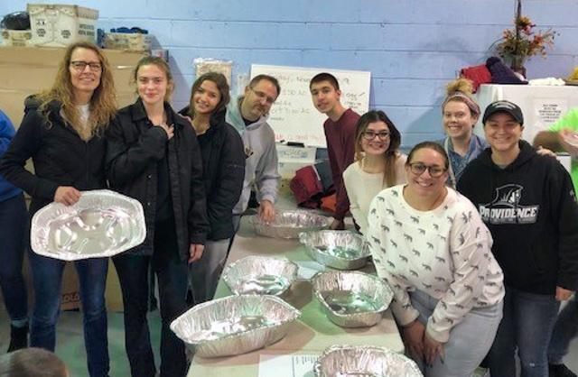Bergen's Promise Volunteers at 2019 Basket Brigade