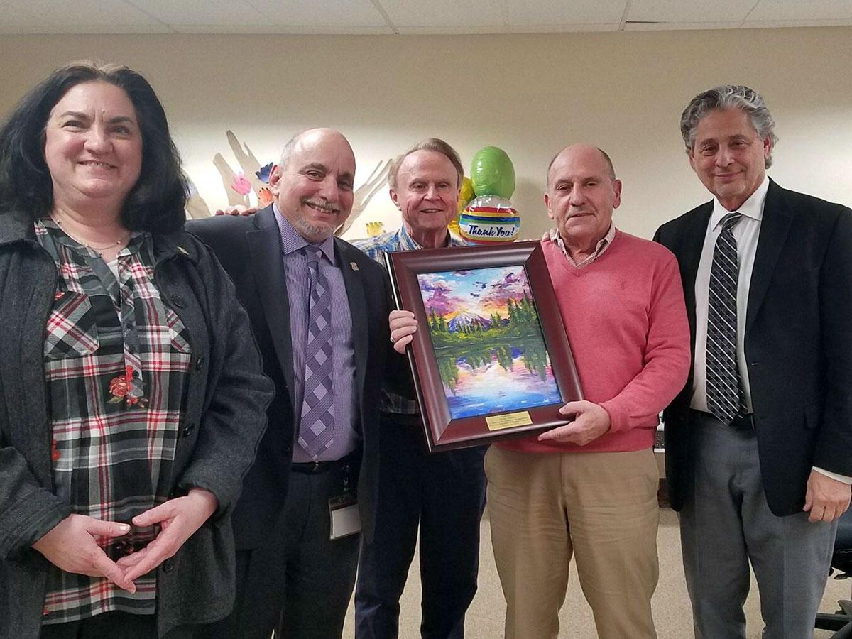 Thanks Peter! Board of Directors' President Retires
