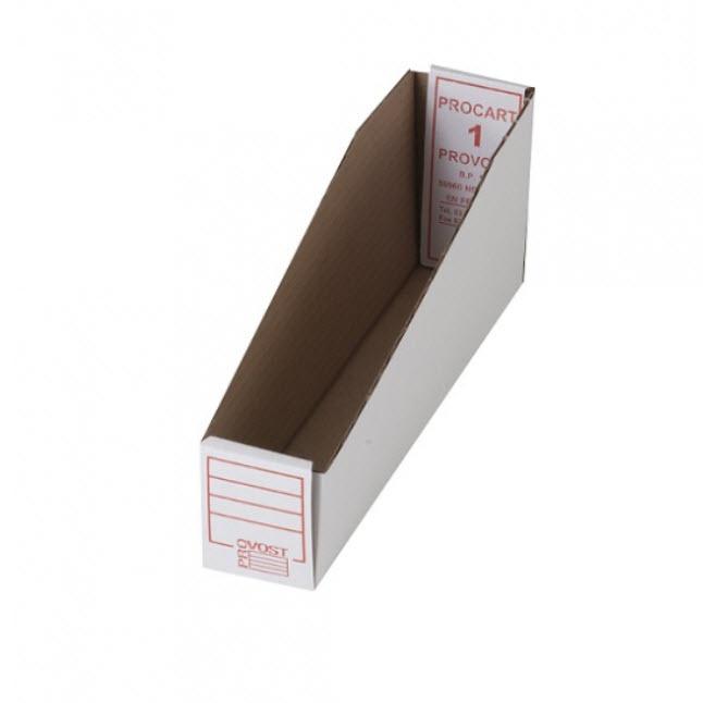 BAC CARTON PROCART ANTIGRAISSE 3 LARGEURS - LOT DE 50