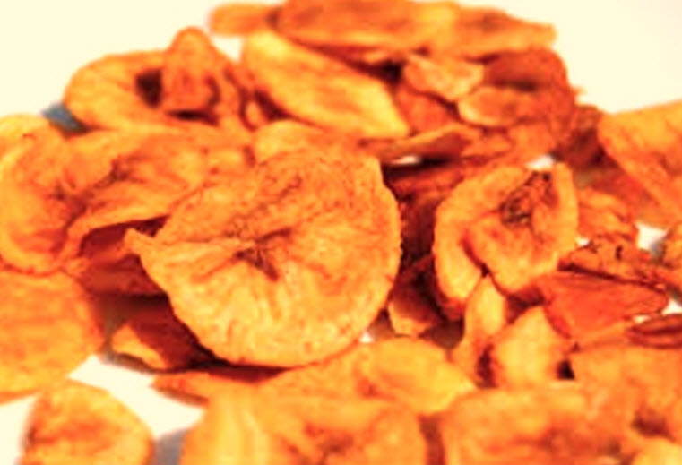Chips De Banane Sucre 50 Grs