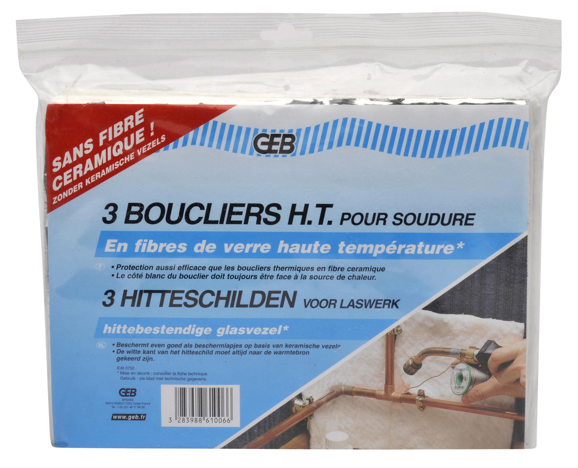 BOUCLIER THERMIQUE PACK DE 3