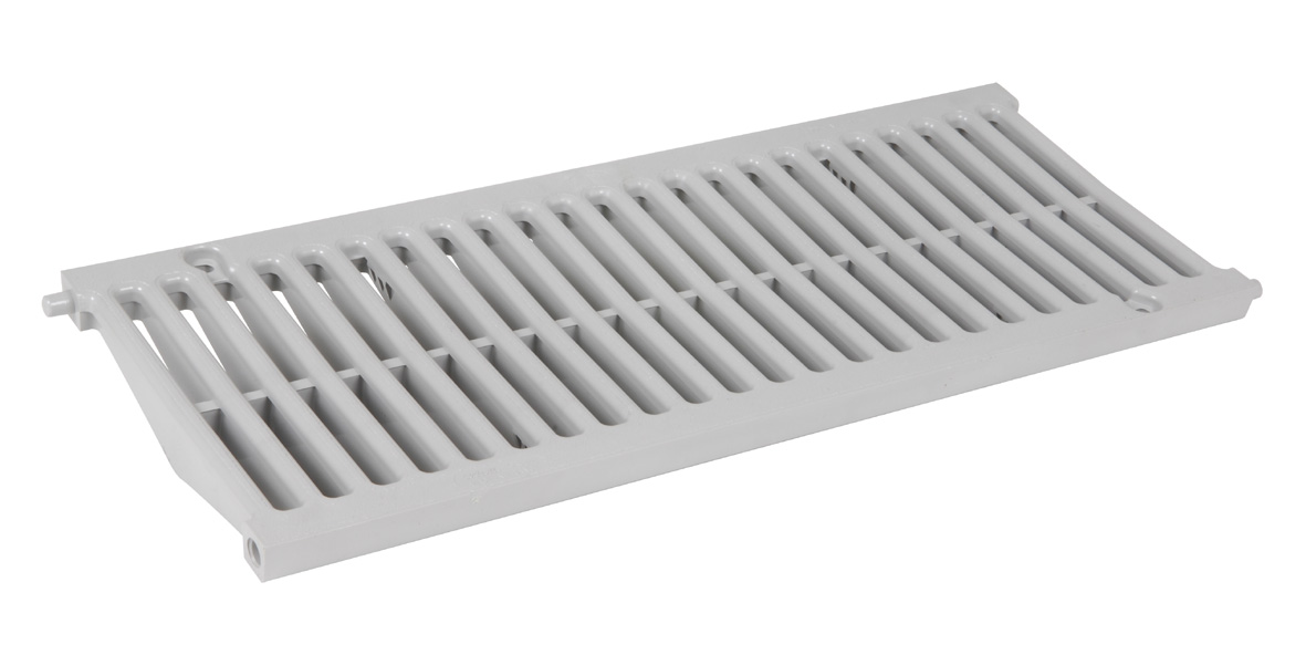 GRILLE CAN 200 GRISE 0,5M