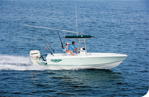 Bateau Bluewater Offshore 2150