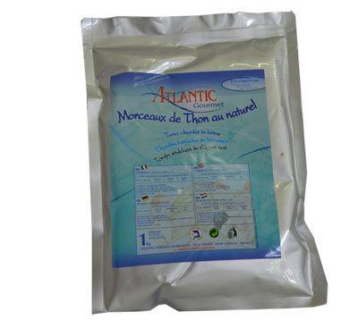 Thon naturel en poche (600 g)