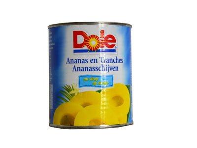 Ananas tranche au sirop (Bte 4/4)