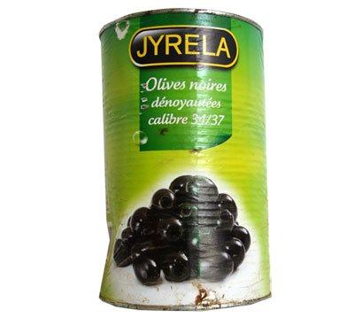 Olives noires dénoyautés PEGASE 5/1