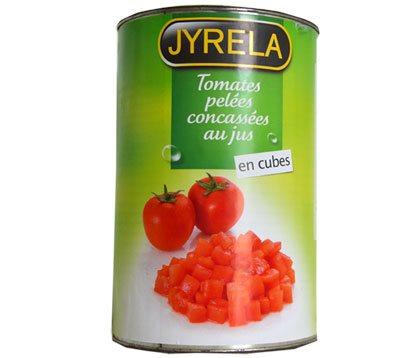 Tomate concassé cube (bte 5/1)