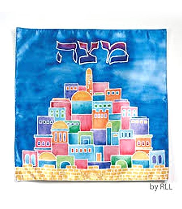 Matzah Tosh: Jerusalem Motif Cloth