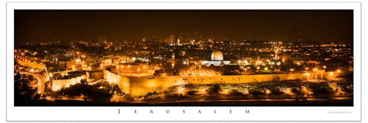 Jerusalem - Art Poster