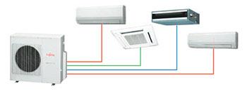 Fujitsu Ducted Airconditioning