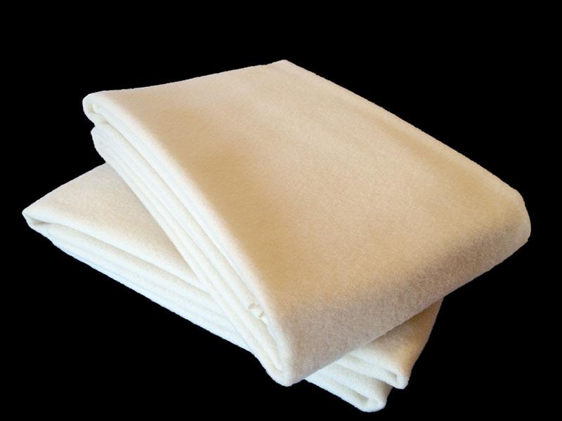 Wool Flannel Bassinet Blankets