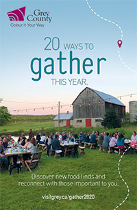 Visit grey county 20 ways to gather this year.