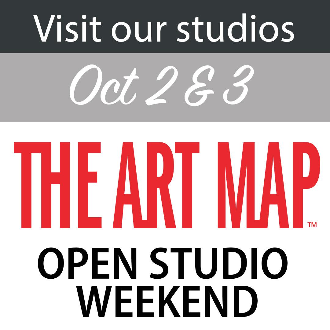 The Art Map Open Studio weekend Oct 2 & 3.