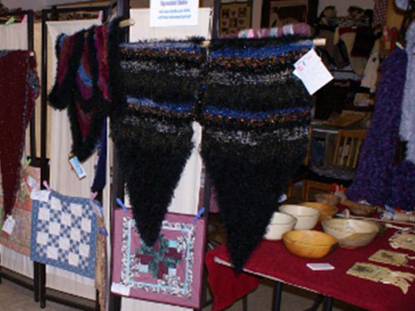fabric art display
