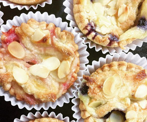 delicious tarts from birgit's pastry café