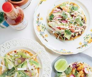 mexican dishes from casero kitchen table