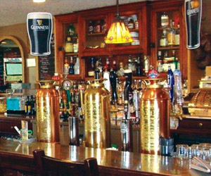 Many libations available at Queen's Bush Pub