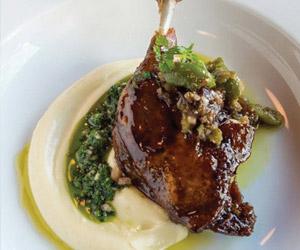 leg of lamb at ristorante rosina