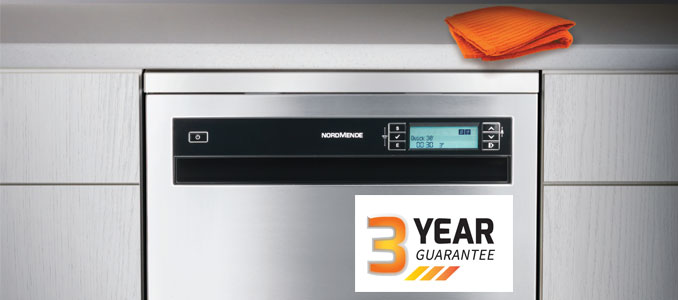NordMende Offers Free 3 Year Warranty on Appliances