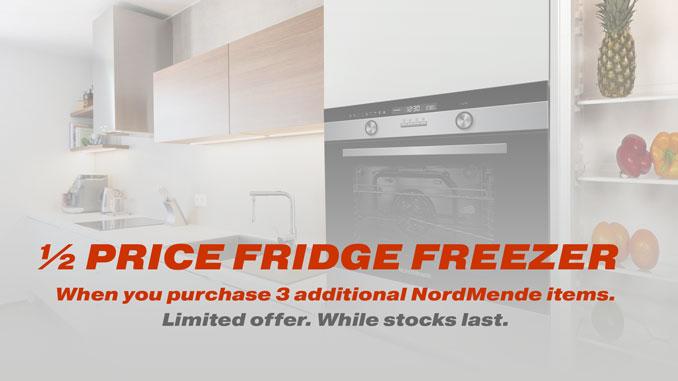Half Price Fridge Freezer