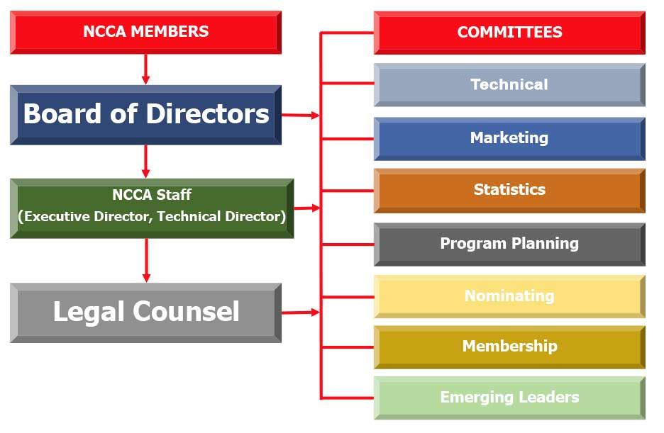 NCCA Organizational Structure