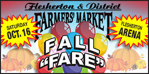 Flesherton and District Farmers' Market Fall Fare - October 16
