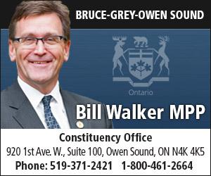 Bill Walker, MPP Bruce-Grey-Owen Sound