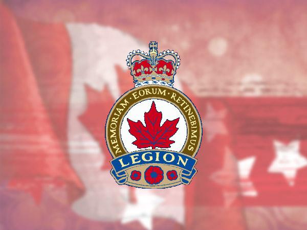 Royal Canadian Legion logo.