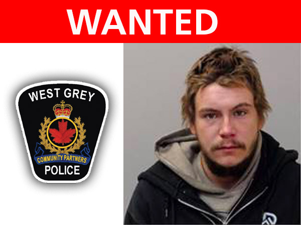 wanted by west grey police