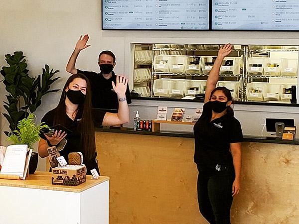 Crossroads Cannabis staff