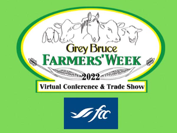 grey bruce farmers' week logo.