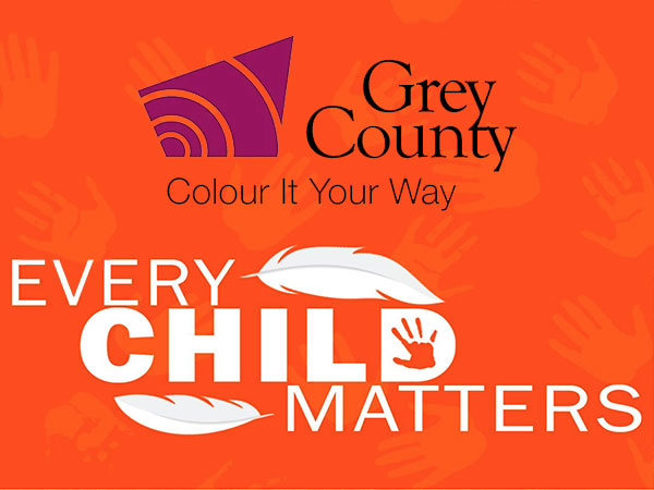Grey County Every Child Matters logos