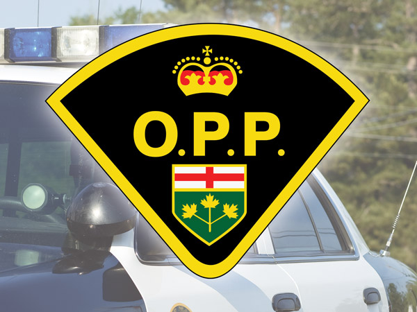 OPP logo with squad car behind
