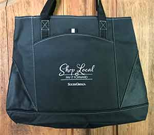 Shop Local tote bags