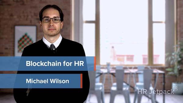 Blockchain for HR