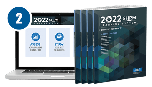 SHRM Learning System - prep for the SHRM certification exam