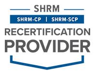 SHRM Recertification Credit Provider