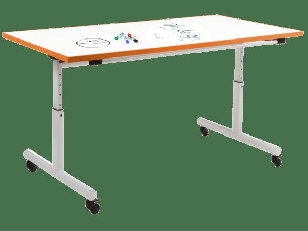 Adjustable Marker Board Flip Top