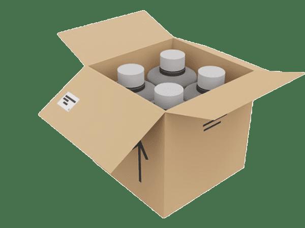 SaniPower - 4 x 1L Refills